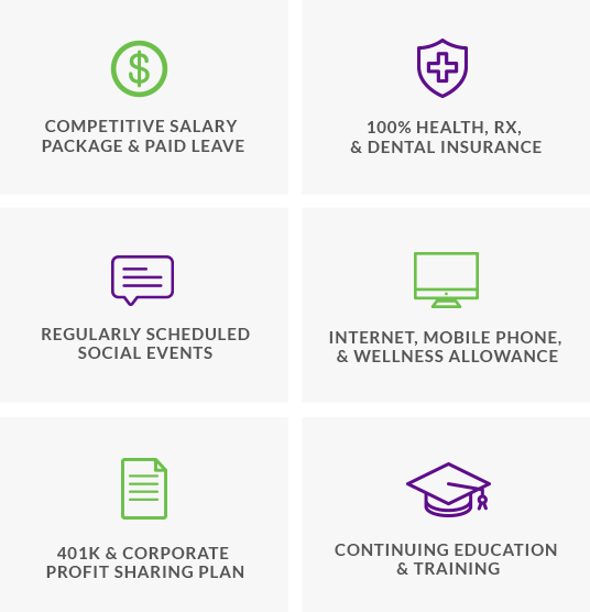 Benefits for working for one of the top business intelligence federal contractors in the washington dc area
