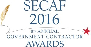 best governement contractor award SECAF