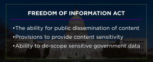 Freedom of info act